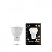 Лампа Gauss LED D35*45 3W MR11 GU4 2700K 1/10/100