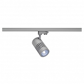 3Ph, STRUCTEC LED светильник с LED 24Вт (29Вт), CRI 90, 4000К, 2520lm, 36°, серебристый