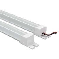 409114 Лента в PVC-профиле PROFILED 400014 12V 9.6W 120LED 4500K с прямоуг.расс.мат-л:пластик,1шт=1м
