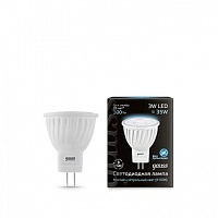 Лампа Gauss LED D35*45 3W MR11 GU4 4100K 1/10/100
