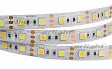 Лента RTW 2-5000SE 12V White-MIX 2x(5060,300 LED,LUX) (ARL, Герметичный), Arlight, 020559
