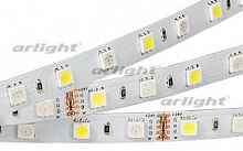 Лента RT6-5050-60 24V RGB-White 2x (300 LED) (ARL, Открытый), Arlight, 018325